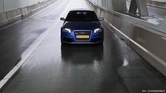 Audi RS3 (Roy Schoonderbeek) Tags: blue 3 netherlands roy car germany photo shoot shot sony audi a200 rs amersfoort sportback rs3 schoonderbeek