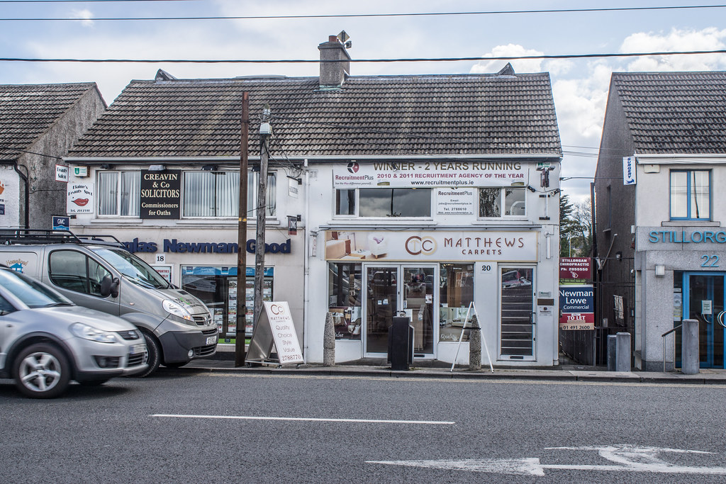 Across The Road From Stillorgan Shopping Centre