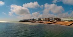 Brighton Beach_4072456 (Steve Bark) Tags: uk sea england beach water landscape four coast seaside brighton olympus e300 hotels thirds fourthirds
