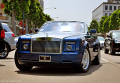 Luxury (Benjamin D. Photography) Tags: california ca blue nikon rolls phantom 90210 royce d60 drophead
