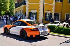 Porsche 911 GT2 (997) & Lamborghini Aventador (piolew) Tags: hotel austria see sterreich am 14 911 porsche schloss lamborghini gt2 internationale 2012 997 internationales velden wrthersee schlosshotel wrther worthersee aventador sportwagenfestival sportwagenwoche