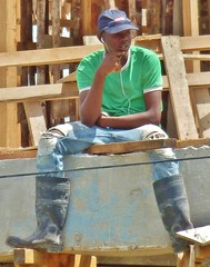 The thinker (Legin_2009) Tags: road street hardhat people music man black male men guy hat work outside outdoors person persona workers construction sitting ipod pants gente boots african caps working guys dude personas jeans listening cap sit mens jersey males worker caribbean mann jerseys persons dudes wellies hombre guano hommes wellingtons männer homme listen guapos hombres mec homens bluecollar herren homen люди mecs mannes 男子 אנשים الرجال wellys पुरुषों