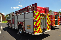 Abington Township Fire Department Abington Fire Company Squad 100 (Triborough) Tags: pennsylvania engine firetruck pa pierce squad afc fortwashington pumper montgomerycounty atfd abingtonfirecompany squad100
