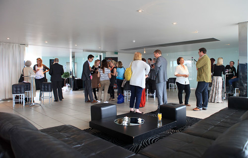 LOCOG Drinks Reception at the Point Hotel, Edinburgh