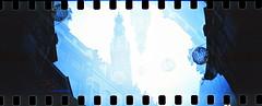 IMG_0014 (spoeker) Tags: sea panorama holland beach netherlands strand analog 35mm lomo xpro lomography sand meer slide dia double multipleexposure analogue alkmaar mx kb niederlande sprockets doppelbelichtung mehrfachbelichtung sprocketrocket