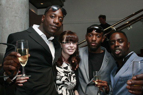 The One Mile Away cast at the European premiere of Brave at the Festival Theatre