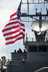 120704-N-TX154-669 (U.S. Pacific Fleet) Tags: japan sailors usnavy ras cruiser underway southchinasea guidedmissilecruiser usscowpens 7thfleet unrep vertrep flightoperations forwarddeployed usscowpenscg63