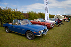 Triumph Stags (<p&p>photo) Tags: blue classic cars table scotland classiccar stag rally may round triumph vehicle soc classiccars roundtable 2012 stags strathaven classiccarshow triumphstag southlanarkshire classiccarrally stagownersclub triumphstags may2012 classicvehiclerally classicvehicleshow strathavenanddistrictroundtable strathavendistrictroundtable