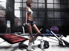 TA Fitness Set  new! (Neva Crystall-Blessed) Tags: picnic miel ta belleza loz maitreya