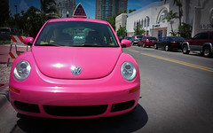 Big Pink's Volkswagen Beetle Delivery Car -  S...