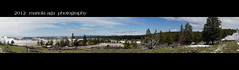 Lower Geyser Basin Panorama ~ Explored (mariola aga) Tags: panorama nature nationalpark view wideangle steam trail yellowstonenationalpark geysers lowergeyserbasin panoramicshot fountainpaintpottrail