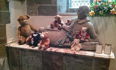 Teddy bears (BiggestWoo) Tags: bear ladies summer music church grave saint st choir evening concert teddy south bears tomb lincolnshire lincoln leonard louth effigy leonards diocese lincs diocesan cockerington