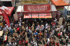 Cold Stone on a hot day (HondaIndyToronto) Tags: toronto ontario canada honda crowd indy icecream fans coldstone indycar izod exhibitionplace thunderalley streetsoftoronto patrickmonaghan