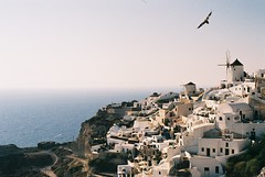 (marinhovelloso) Tags: travel summer film 50mm analgica europa europe pentax santorini greece viagem spotmatic vero turismo turism grcia analogic
