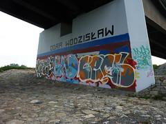 Olza 2012 river Odra (cerzonez) Tags: graffiti dc crews burd silesia odra mof wiadukt mleko cers olza