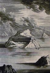 Phillip Medhurst Bible 58. The Ark. Genesis cap 8 v 8-9. Pintz (Phillip Medhurst Prints) Tags: print bibleillustration bible