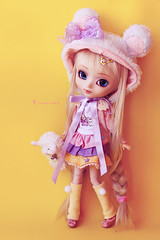 Beary Fairy (Rinoninha) Tags: bear cute doll sweet handmade chips 25 wig kawaii pullip dulce ichigo mueca coolcat peluca mymelody leeke obitsu leekeworld rewigged rechipped fairykei