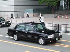 日本交通 (izayuke_tarokaja) Tags: 日本交通 クラウンコンフォート