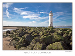Perch Rock Lighthouse ~ New Brighton (Mike Parr) Tags: lighthouse water river landscape rocks riverfront wirral breakwater newbrighton merseyside landscapephotography rivermersey wirralpeninsula newbrightonlighthouse mikeparr perchrock perchrocklighthouse canon7d mikeparrphotography