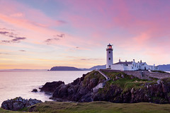 Fanad Lighthouse #2 (Ian Humes) Tags: ireland sea lighthouse water geotagged dawn rocks cliffs coastal donegal cccl commissionersofirishlights lighthousetrek fanadlighthouse