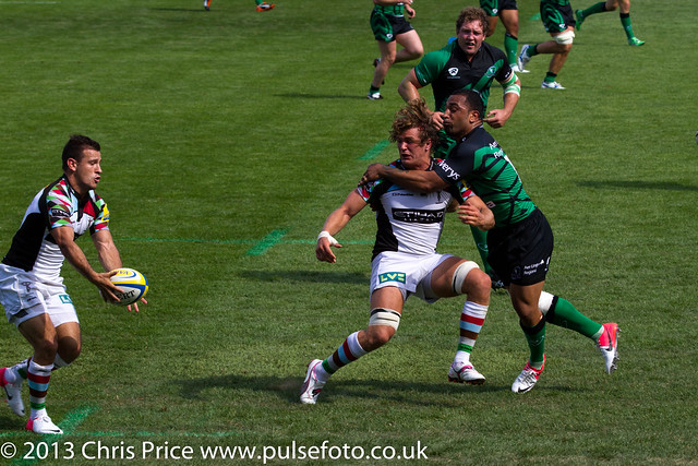 Lukey takes the tackle for Danny