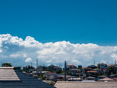 (kasa51) Tags: summer sky cloud japan digital lumix suburbia olympus panasonic yokohama    gf1  40150mm f456  mzuiko