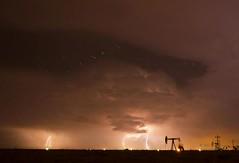 Stars & storm 2 (Tom Heisey) Tags: clouds texas sundown lightning plains storms thunderstorms