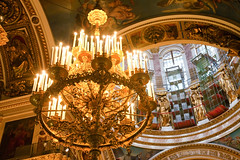 St.Isaac`s Cathedrals chandelier (filchist) Tags: building scale architecture point wooden model with cathedral central cathedrals icon ceiling altar chandelier dome orthodox stisaacs tikhvin wonderworking goldcoating