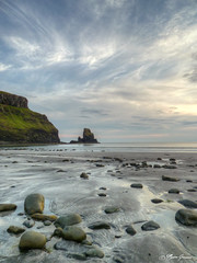 Talisker Bay (stuntman.mike150kw) Tags: sea sky cloud lumix scotland nuvole mare panasonic cielo viaggi scozia