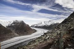 The Aletsch Glacier III (dpvch) Tags: mountain snow alps nature landscape switzerland glacier wallis valais aletsch