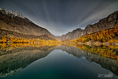 صدقے اُتر رھے ھیں تم پر یہ آسمان سے ۔۔۔ (SMBukhari) Tags: longexposure autumn light moon lake fall colors night clouds landscape star village trails moonlight lit startrails skardu baltistan kachura upperkachura kachuralake syedmehdibukhari smbukhari colorsinnight
