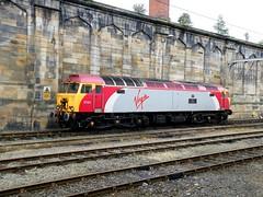 57311 Parker on Thunderbird duties at Carlisle, 12th Aug 2009. (Dave Wragg) Tags: diesel railway loco locomotive thunderbird carlisle parker virgintrains 57311 class573