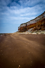 Wind Swept Beach (Neal_T) Tags: sea beach coast seaside sand nikon norfolk windy filter sandstorm hoya hunstanton clifs 67mm polarizingfilter polariser northnorfolk polarisingfilter hoyafilter d7100
