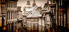 Prague City (tim.hage) Tags: city building monochrome skyline architecture buildings czech prague cities roofs czechrepublic