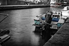 Raw- Lunga exp 1 (prefettodaniele3) Tags: water canon eos long barca filter 1855mm molo esposure viareggio neutral