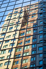 I Know You're Leaving (Jeremy Brooks) Tags: windows usa abstract reflection building window boston massachusets