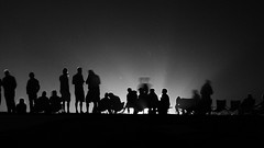 Le Mans Crowd (robbstephens65) Tags: people night sillouette lemans
