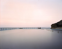 Pool (GrisFroid) Tags: ocean longexposure sea seascape colour mamiya film water mediumformat kodak portra 160 rz67 oceanpool