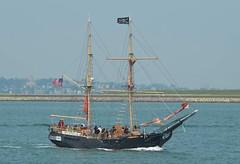 S/V Formidable (jelpics) Tags: ocean sea boston sailboat port harbor boat ship massachusetts sail mast bostonma rigging bostonharbor formidable sailingvessel svformidable