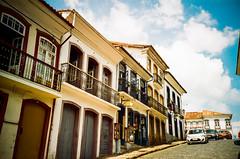 Ouro Preto Streets (Schwantes (Analog Photography)) Tags: minasgerais film analog lomo lomography kodak tiradentes ouropreto c41 proimage vilarica