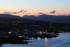 Magical Mystery May (Jgvan Horn) Tags: ocean summer night port island coast harbor town marine rocks harbour dusk ships atlantic shore maritime faroeislands trshavn froyar tinganes enniberg
