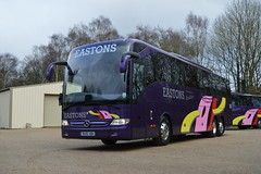Eastons Holidays brand new Mercedes Benz Tourismo (Eastons Coaches Official) Tags: mercedes benz norwich coaches stratton hbh tourismo nr10 eastons strawless bu16 5lr bu16hbh