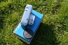 Top (Callum Colville's Lothian Buses) Tags: camera vintage box tripod certificate case vintagecamera manual yashica pointshoot cartridge 126film seleniumcell ezmatic vintagetripod