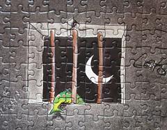 Jail Mouse Rock (Alex) (Leonisha) Tags: fish window fenster fisch puzzle jigsawpuzzle