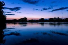 (HeyGagi) Tags: las sunset sky tree nature water night clouds forest river landscape outdoor poland polska natura woda przyroda zachod odra chmury niebo drzewa slonca krajobraz dolnoslaskie glogow