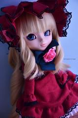 Shinku | Pullip Shinku RMT (Kumo~Milk^^) Tags: anime doll eyelashes wig groove gloss pullip rozenmaiden shinku obitsu junplanning rewigged stockoutfit reinerrubin rozenmaidentramend