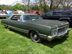 1973 Chrysler New Yorker (splattergraphics) Tags: newyorker chrysler mopar 1973 carshow cbody boonsboromd masondixondragway midatlanticmoparmeet