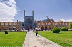 The Shah Mosque front gate (T   J ) Tags: iran esfahan d750 nikon teeje nikon2470mmf28