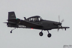 Private --- Ayres S2R-T45 Turbo Thrush Archangel --- N809KH (Drinu C) Tags: adrianciliaphotography sony dsc hx9v mla lmml plane aircraft aviation military private ayres s2rt45 turbo thrush archangel n809kh