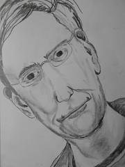 Man of the world. (dbx 750) Tags: world man art simon pencil sketch alien worlds parkes
